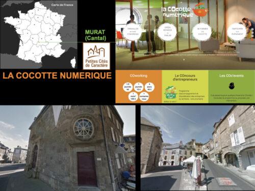 La Cocotte Numérique - Murat (15). © La Cocotte Numérique et Google Map